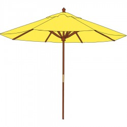 Roma 2.1m Market Umbrella