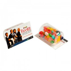 Biz Card Treats with Jelly Beans 25G (Mixed Colours)