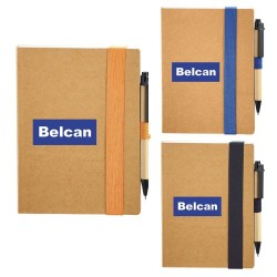 The Eco Perfect Bound Notebook & Pen