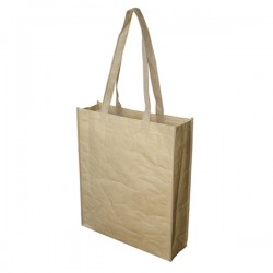 Paper Bag with Large Gusset