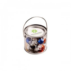 Medium PVC Bucket Filled with Lindt Lindor Balls X 14