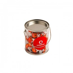 Big PVC Bucket Filled with Lindt Lindor Balls X30