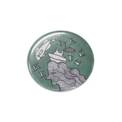 Button Badge Round