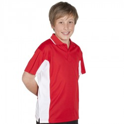 Podium Kids Contrast Polo