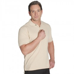 C of Cotton Pique Polo