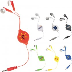 Retractable Earbuds