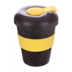 Black Yellow 320ml Profile Karma Kup