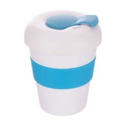 White Bright Blue 320ml Profile Karma Kup