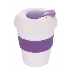 White Purple 320ml Profile Karma Kup