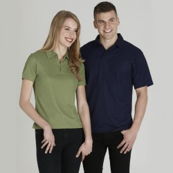 Ladies Micro Waffel Polo