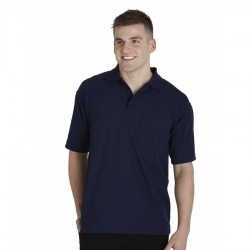 210 Gsm P/C Polo W/Pocket