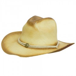 Sprayed Cowboy Straw Hat