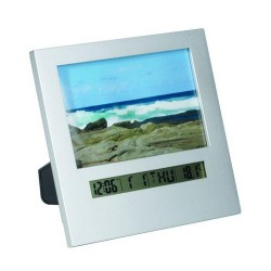 Picture Frame Clock/Thermometer