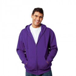 Men's Zippered Hoodie