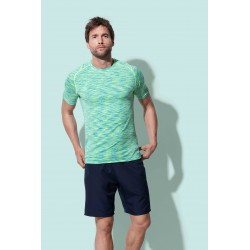 Mens Active Seamless Raglan