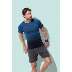 Mens Active Seamless Raglan Flow