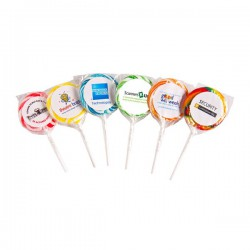 Medium Candy Lollipop (Corporate Colours)