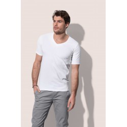 Mens Dean Deep V-neck