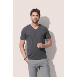 Mens Shawn Slub V-neck