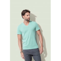 Mens James Organic V-neck