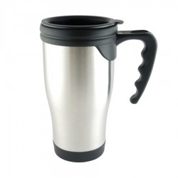 Stainless Steel Travel Mug (plastic inner) 450ml