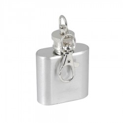 1 oz Hip Flask Keyring