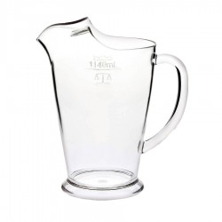 1140ml Poly Ice Lip Jug Badged (W&M)