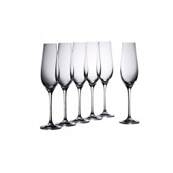 Vinoteca Flute 180ml Set of 6 Gift Boxed