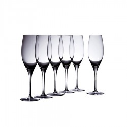Vinoteca Flute 250ml Set of 6 Gift Boxed