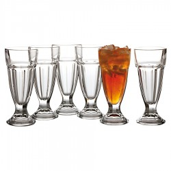 Princeton Soda Glass 300ml Set of 6 Gift Boxed