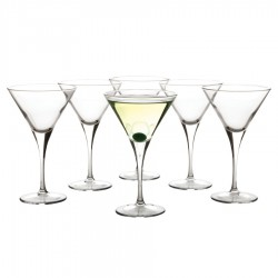 Vertigo Martini 250ml Set of 6 Gift Boxed