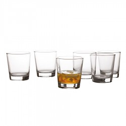 Cuvee Tumbler 340ml Set of 6 Gift Boxed