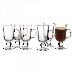Bar Irish Coffee 250ml Set of 6 Gift Boxed