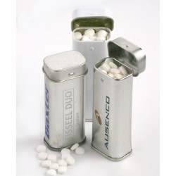 Stand Up Hinge Tin with Sugar Free Mints