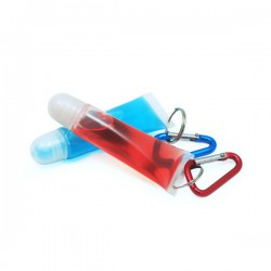 Lip Gloss Tube with Carabiner