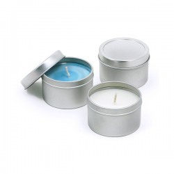 Scented Large Travel Candle Tin