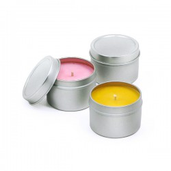 Scented Medium Travel Candle Tin