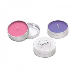 Scented Pocket Travel Candle Tin