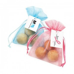Scented Timber Balls in Organza Gift Bag
