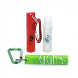 Slimline Lip Balm with Carabiner