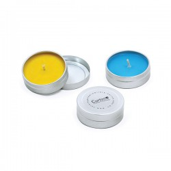 Unscented Pocket Travel Candle Tin