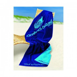 Woven Terry Large Beach Towel