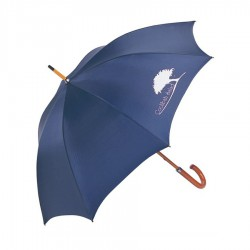 Executive Umbrella With Wood Shaft