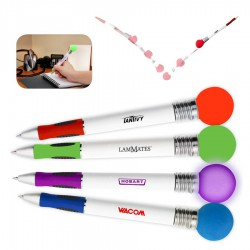Light Up Bouncy Ball Pen