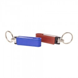 PU Wrap Leather Flash Drive