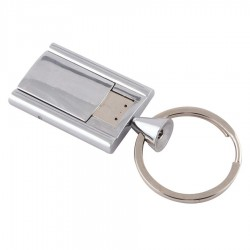 Chrome Flip Flash Drive