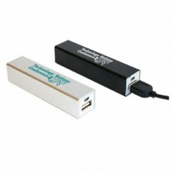 Aluminium Power Bank Stick - 2600mAh