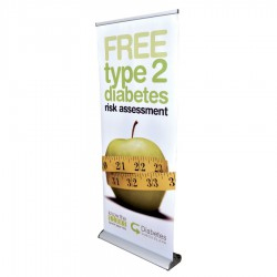 The Deluxe 850mm Roll Up Banner