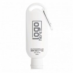 SPF50+ 50ml Sunscreen on Carabiner
