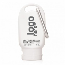 SPF50+ 60ml Australian Made Sunscreen on Carabiner